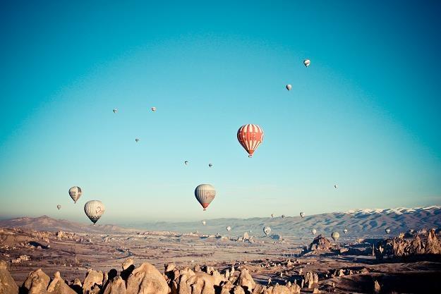 Opodatkować można wszystko - np. loty balonem... /©123RF/PICSEL