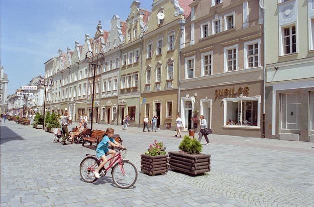 Opole, centrum miasta. Fot. Krzysztof Wojda /Reporter