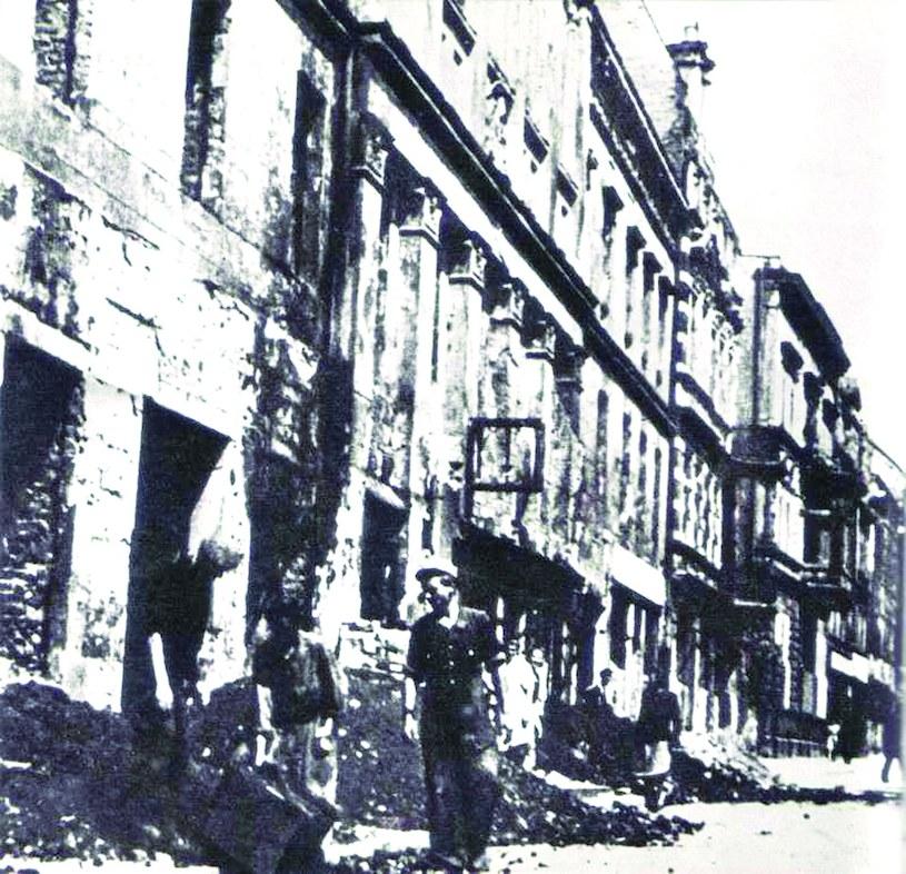 Opole po walkach w 1945 roku /Odkrywca
