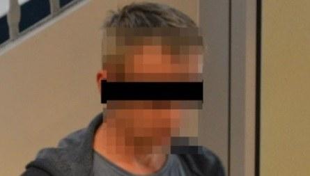 Opolscy policjanci zatrzymali 40-latka podejrzanego o napaść i usiłowanie gwałtu. /Opolska Policja /Policja