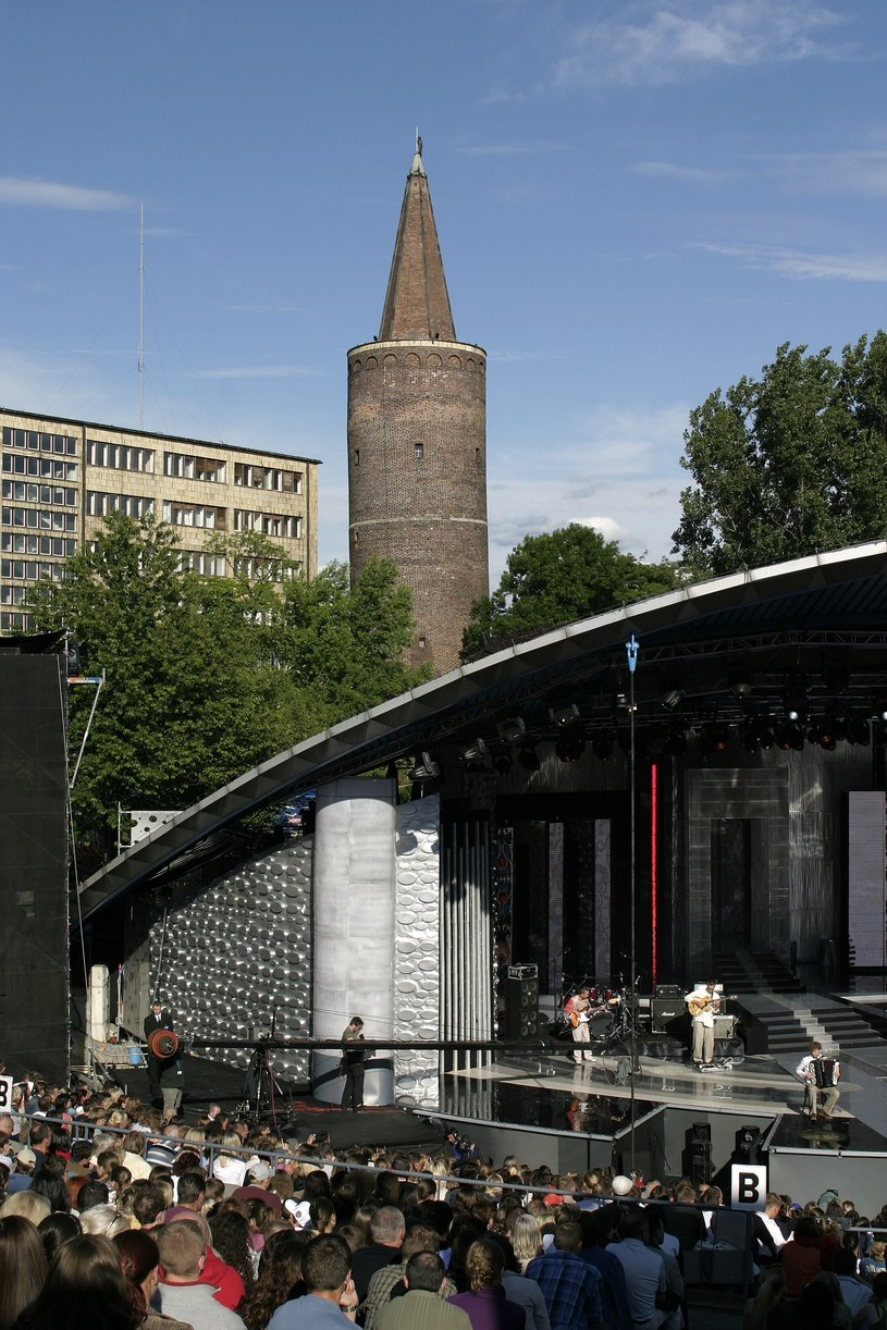 Opolski amfiteatr /Krzysztof Jarosz /Agencja FORUM
