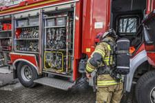 Opolskie: Pożar na A4. Zapalił się samochód