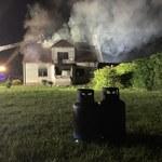 Opolskie: Wybuch i pożar w budynku mieszkalnym. Jedna osoba poszkodowana