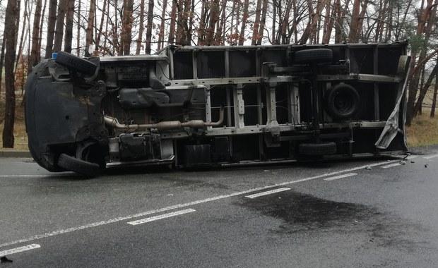 Opolskie: Wypadek na DK 94, są ranni