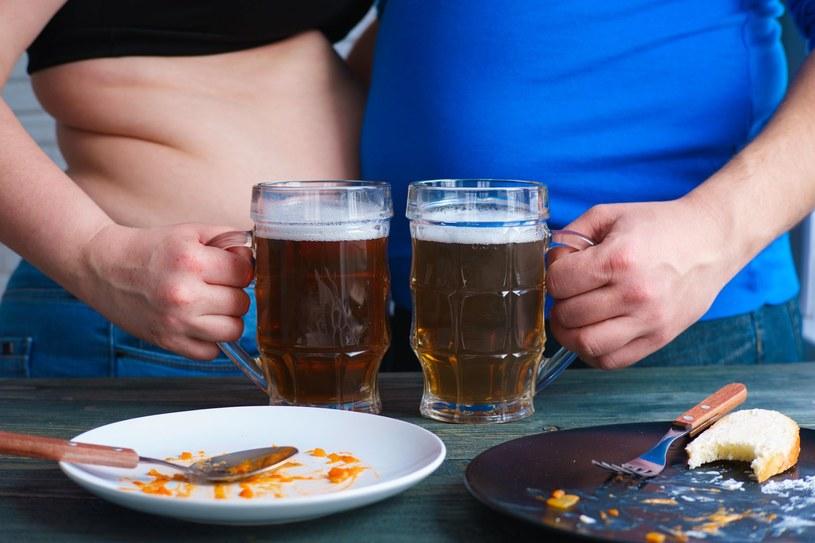 """""""Oponka"""" na brzuchu zazwyczaj zwiastuje poważne problemy zdrowotne /123RF/PICSEL"""