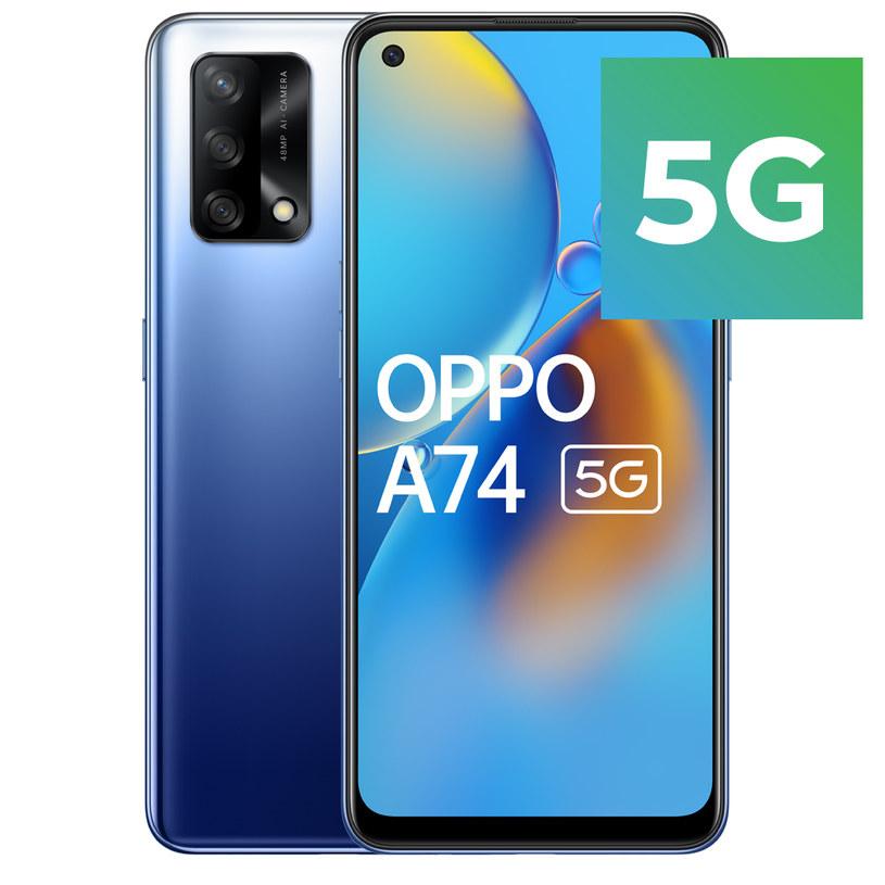 Oppo A74 5G /materiały prasowe