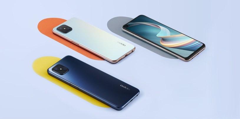 OPPO, globalny producent urządzeń mobilnych, wprowadza do sprzedaży smartfon OPPO Reno4 Z 5G /materiały promocyjne