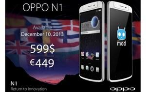 Oppo N1 - pierwszy smartfon z ColorOS wkrótce w sprzedaży