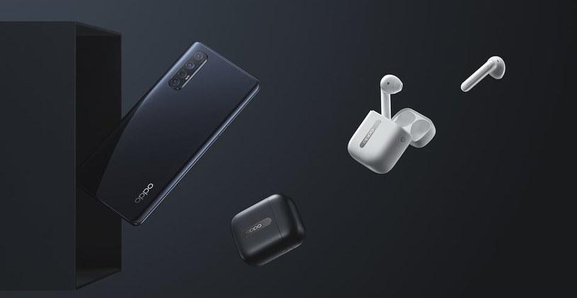 Oppo Reno 3 Pro i słuchawki Enco Free /materiały prasowe
