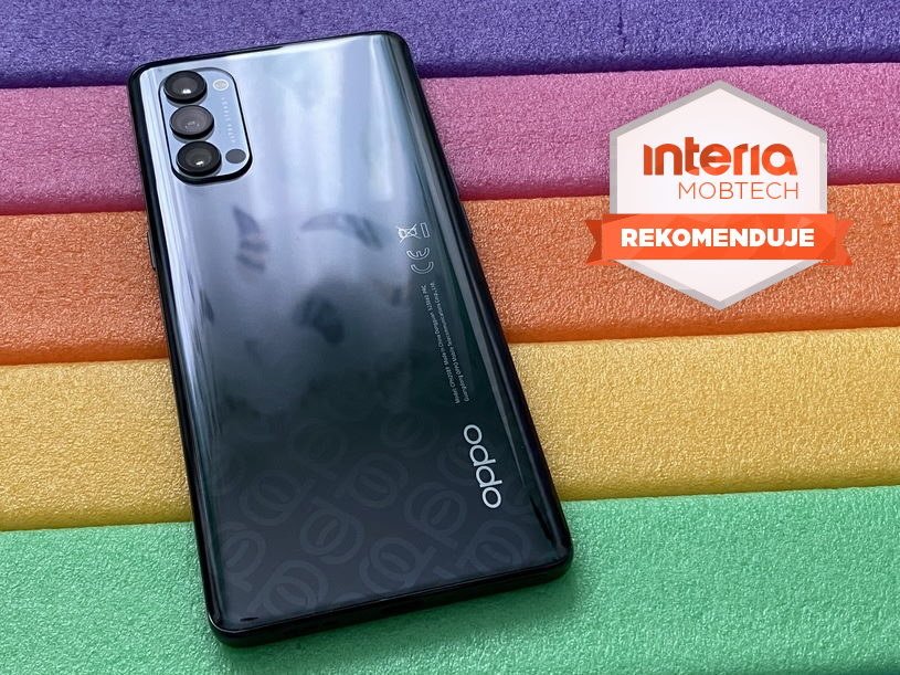 Oppo Reno4 Pro 5G otrzymuje REKOMENDACJĘ serwisu Interia Mobtech /INTERIA.PL
