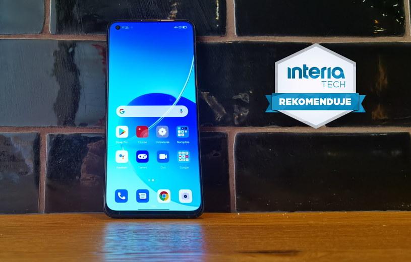 Oppo Reno6 5G otrzymuje REKOMENDACJĘ serwisu Interia Tech /INTERIA.PL