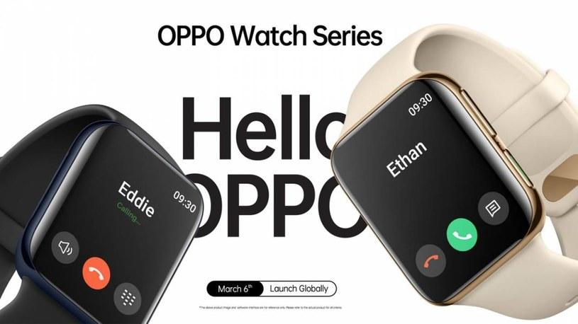 Oppo Watch /materiały prasowe