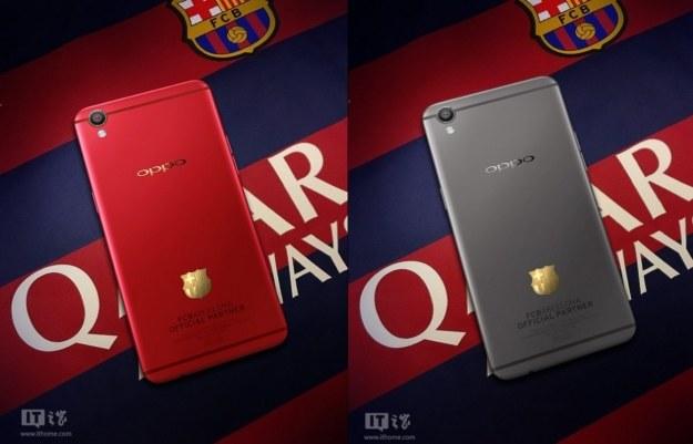 Oppo z FC Barcelona /materiały prasowe