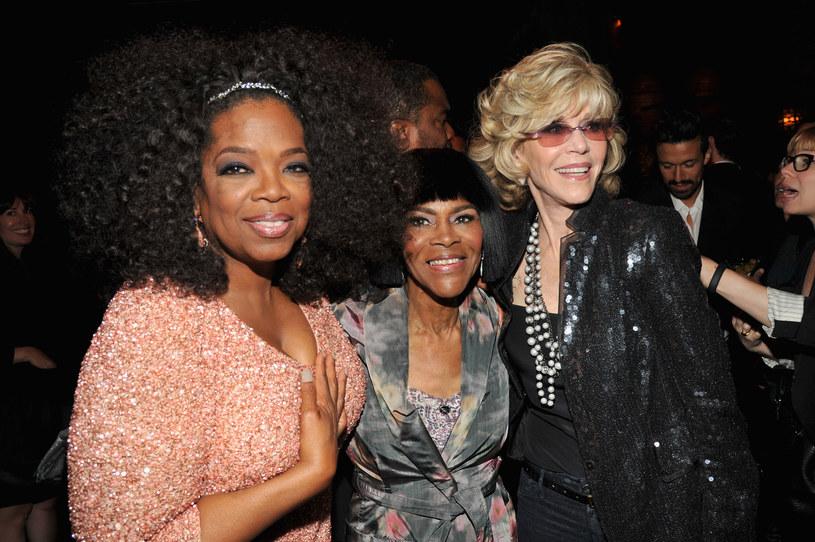 Oprah Winfrey, Cicely Tyson i Jane Fonda / Kevin Mazur / Contributor /Getty Images