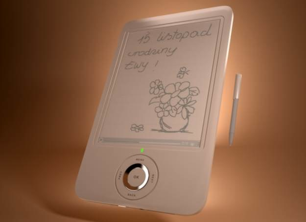 Oprócz czytania książek, przy pomocy tego e-readera możemy także wykonywać proste ilustracje /INTERIA.PL