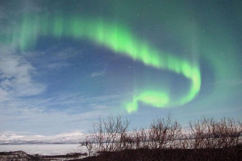 Oprócz problemów burze magnetyczne mogą też wywoływać zorzę polarną /AFP