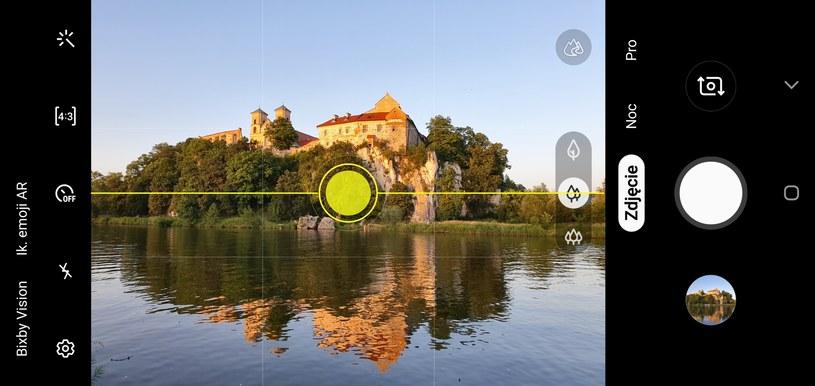 Optymalizator scenerii oparty o układ NPU podpowie, jak najlepiej skadrować zdjęcie /INTERIA.PL
