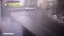Opublikowano nagrania z kamer przemysłowych, które uchwyciły moment zawalenia się wiaduktu w Genui