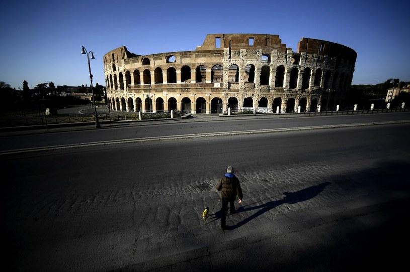 Opustoszały Rzym /AFP