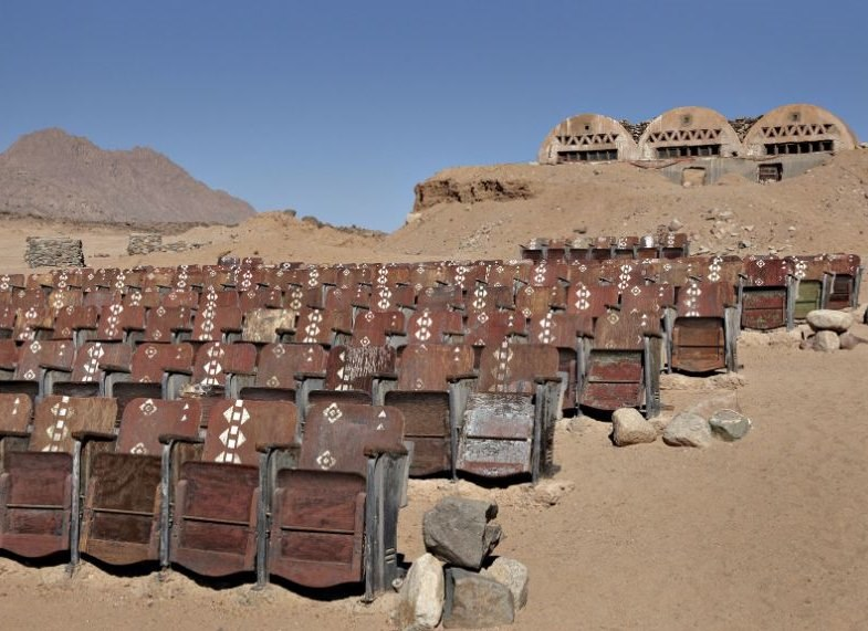 Opuszczone kino ma 150 foteli, ale nigdy nie zapełnia się widzami /Kaupo Kikkas /materiały prasowe