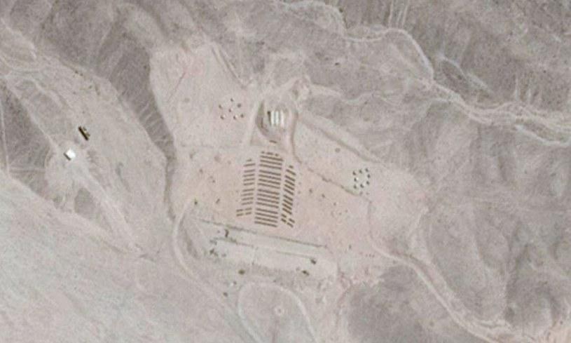 Opuszczone kino z góry wygląda jak obiekt stworzony przez kosmitów /materiały prasowe