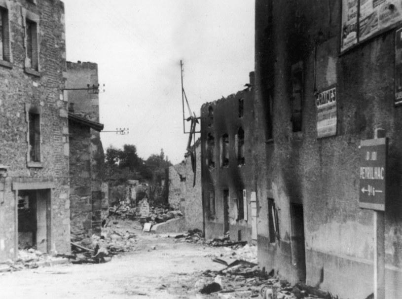 Oradour-sur-Glane. Naziści zamordowali tu 642 osoby /Getty Images