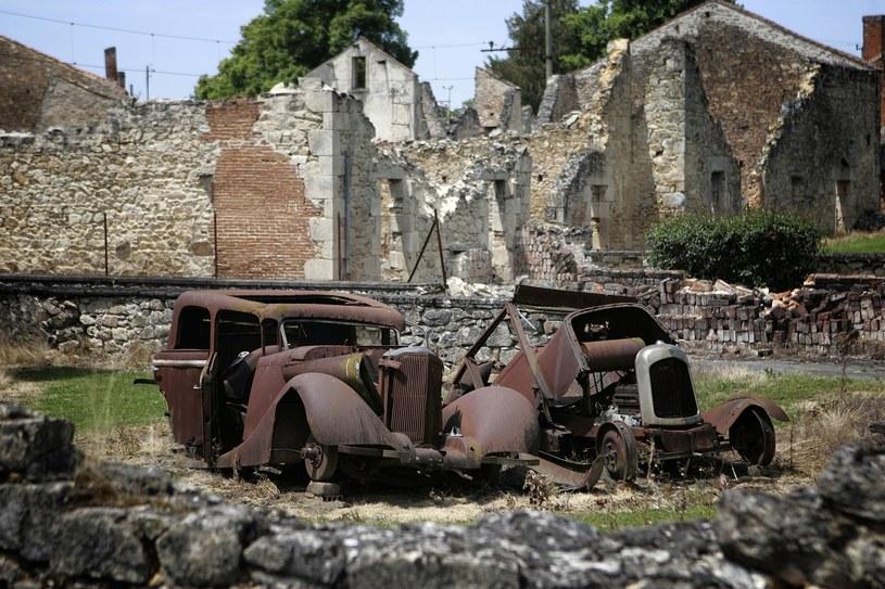 Oradour-sur-Glane po latach. Dziś pełni rolę muzeum, przypominającego o tragicznej historii /AFP