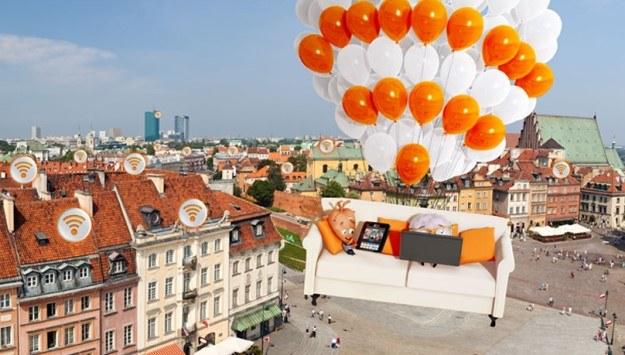 Orange FunSpot - zasięg sieci Orange FunSpot obejmuje miejsca, gdzie znajdują się Liveboksy innych użytkowników /materiały prasowe