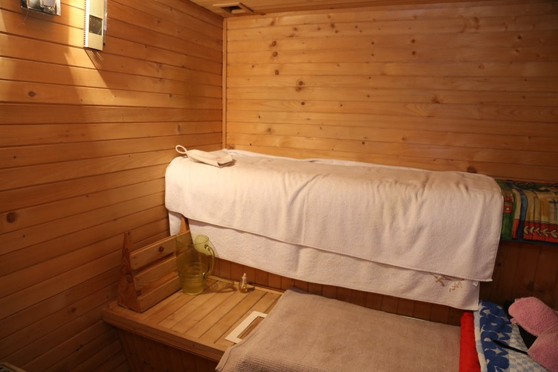 oraz saunę! /- /East News