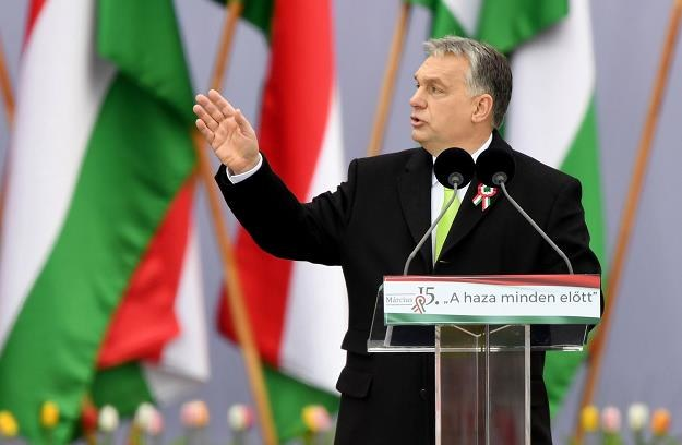 Orban nie chce emigrantów? /AFP