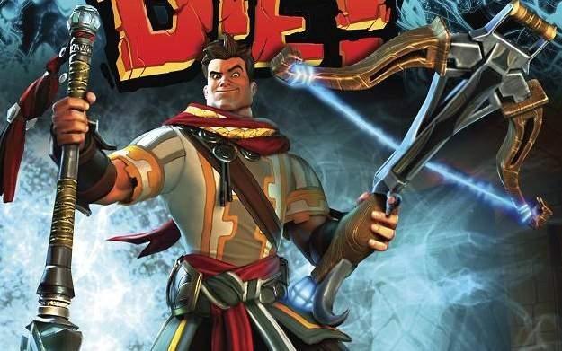 Orcs Must Die! Śmierć Orkom! - motyw graficzny /Informacja prasowa