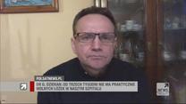 """Ordynator oddziału covidowego w """"Gościu Wydarzeń"""": Przed nami kilka ciężkich tygodni"""
