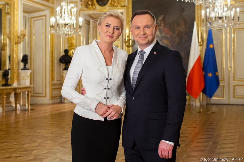 Orędzie pary prezydenckiej z okazji 100. rocznicy odzyskania przez Polskę niepodległości /Igor Smirnow/ KPRP /