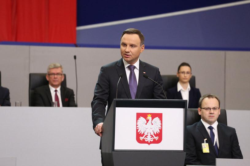 Orędzie prezydenta /fot. Rafał Zambrzycki /