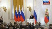 """Orędzie Putina. """"Krym był i pozostanie częścią Rosji"""""""