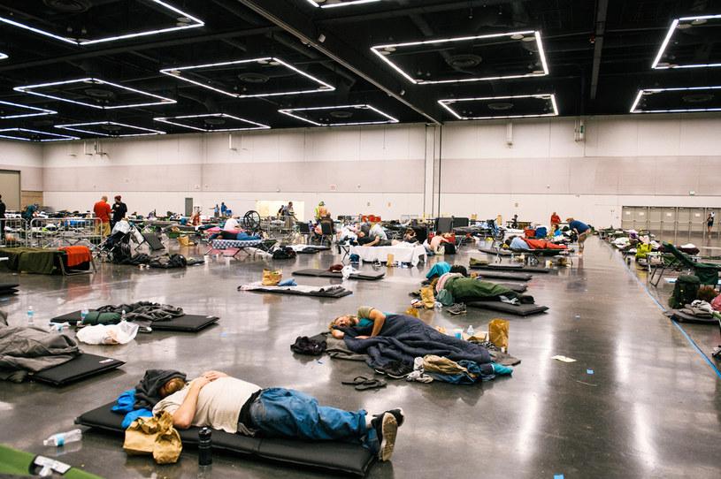 Oregon walczy z upałami. Na zdjęciu jedno z tzw. centrów chłodzących w Portland /Kathryn Elsesser / AFP /AFP