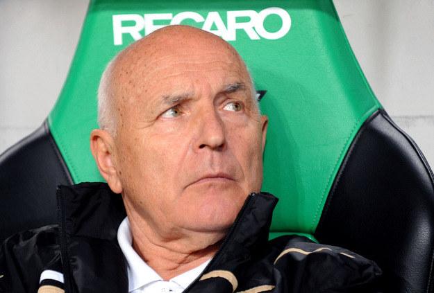 Orest Lenczyk - trener Zagłębia Lubin /AFP