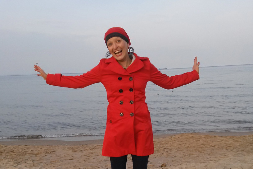 Organizatorka Magda Lesiewicz chce, aby  diagnoza rak nie odbierała ludziom chęci do walki i radości życia. /materiały prasowe
