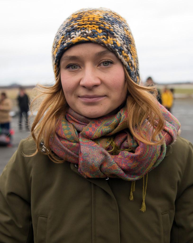 Organizatorka marszu Anna Alboth /AFP