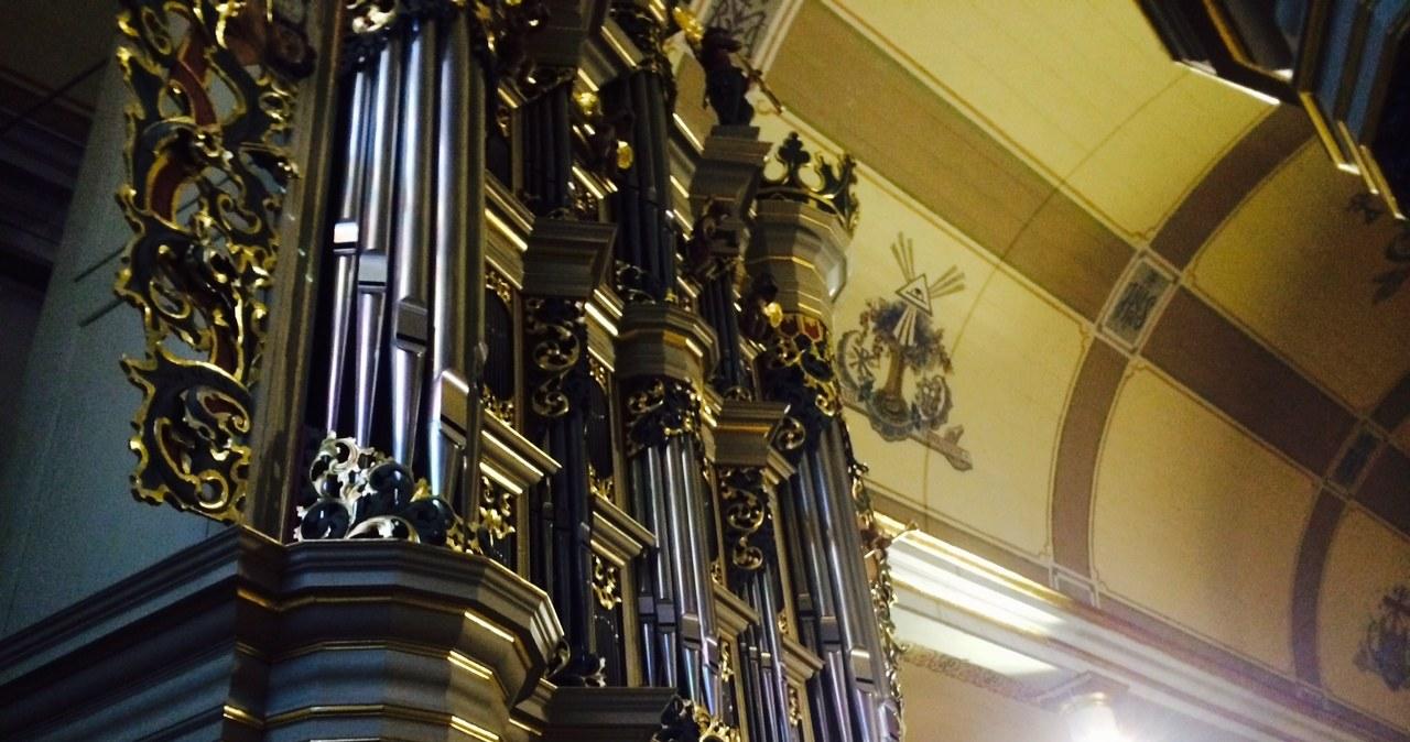 Organy barokowe w Pasłęku