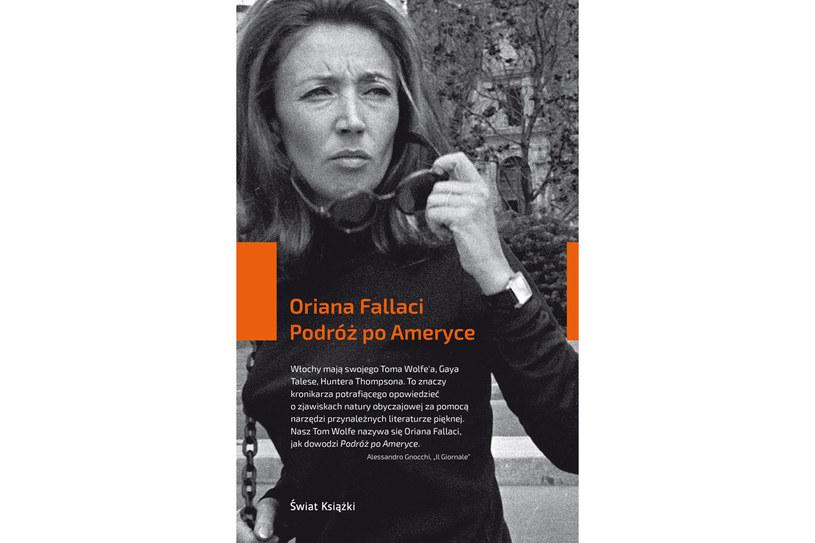 """Oriana Fallaci """"Podróż po Ameryce"""" /materiały prasowe"""