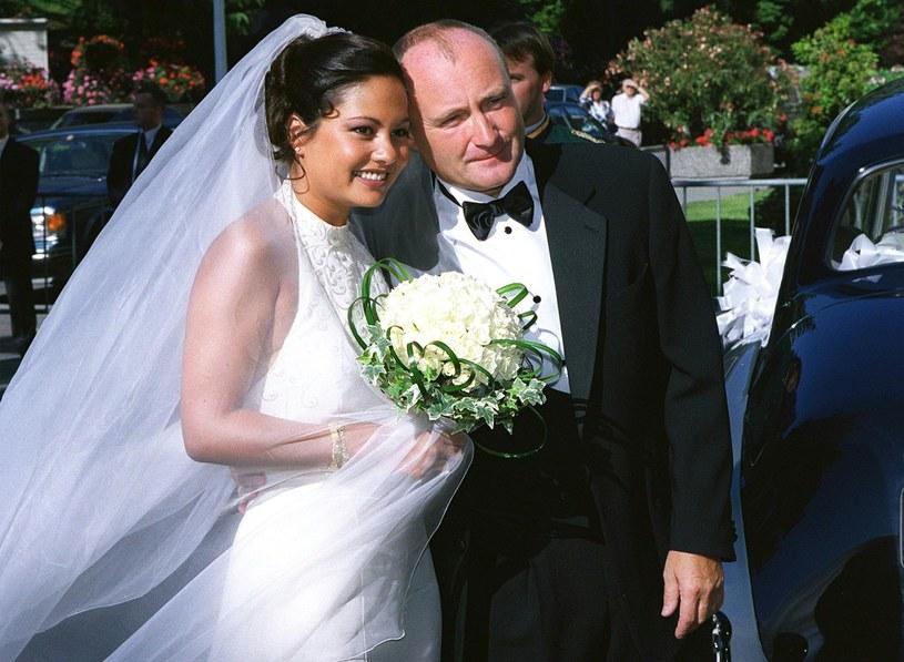 Orianne Cevey i Phil Collins z przerwami byli ze sobą 11 lat /Reuters Photographer /Agencja FORUM