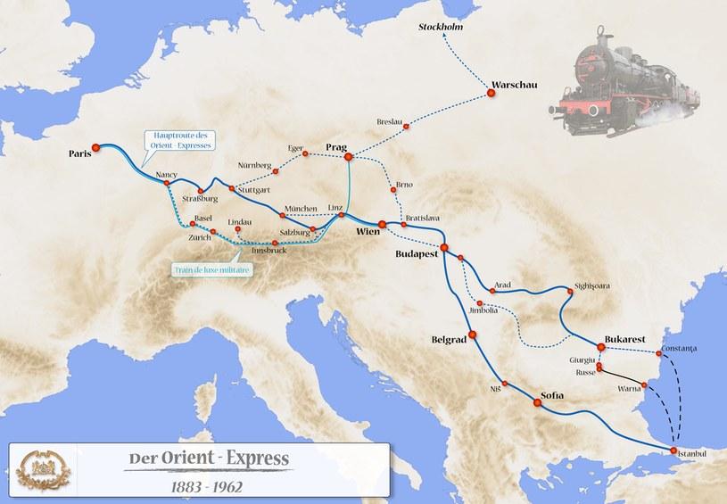 Orient Express, łącząc Zachód ze Wschodem, stał się symbolem epoki /Odkrywca