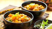 Orientalny gulasz z dyni i cieciorki
