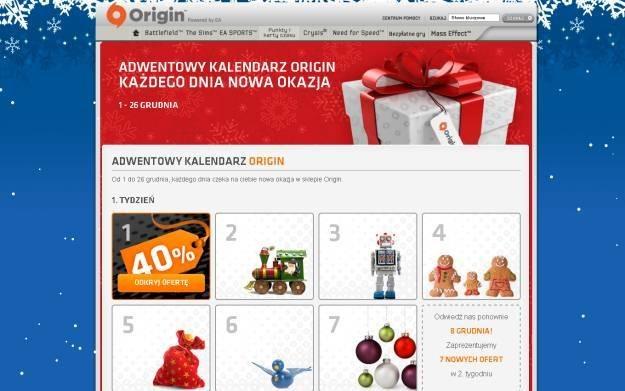 Origin: Ruszyła świąteczna wyprzedaż /Informacja prasowa
