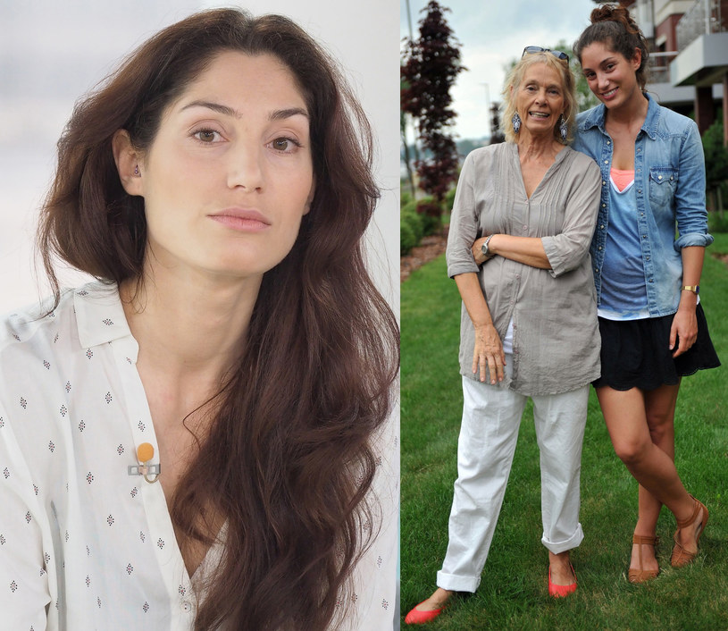 Orina Krajewska z mamą Małgorzatą Braunek /Justyna Rojek/EastNews, Jacek Dominski/Reporter /East News