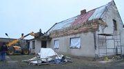 Orkan zniszczył dom wyremontowany dla chorego dziecka
