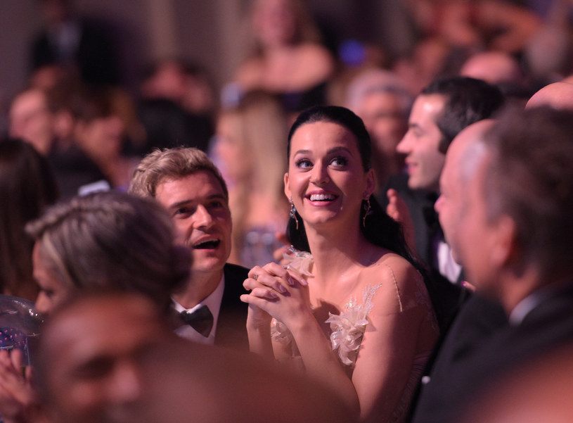 Orlando Bloom i Katy Perry na gali UNICEF-u /Jason Kempin /Getty Images