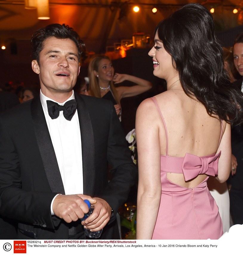 Orlando Bloom i Katy Perry /Buckner/Variety/REX/Shutterstock /East News