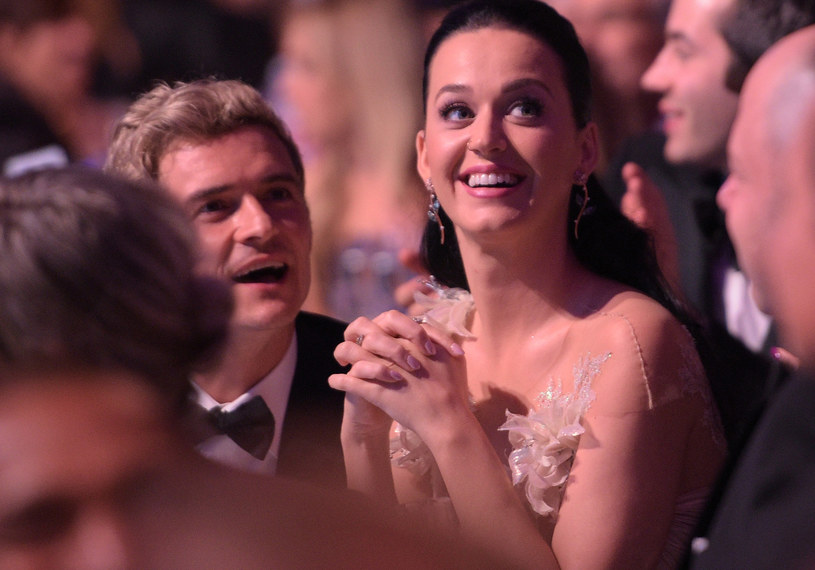 Orlando Bloom i Katy Perry /Jason Kempin /Getty Images